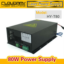 80W CO2 Laser Power Supply Source  for CO2 Laser Engraving Cutting Machine HY-T80