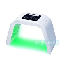 CE Certificated/LED skin rejuvenation lamp pdt cause acne clear 4-color Omega /with teaching video(China)