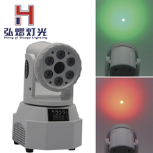 DMX-512 Mini Moving Head Light Beam Light and green laser LED Stage PAR Light Lighting Strobe Professional Party Disco Show(China)