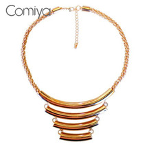 Comiya Multilayer Gold Color Necklace Max Colares Women Perfume Swag Necklaces & Pendant Angel Collares Fashion Jewelry Bijoux