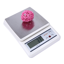 3000g x 0.1g Mini Digital Scale Jewelry Weighting Kitchen Scale Electronic And LCD Display G/OZ/OZT/ DWT With Green Blacklight