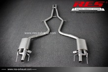 Cheap Auto Parts RES Racing For New Benz S300 High Performance Exhaust Systems Exhaust Pipe Exhaust Muffler(China)