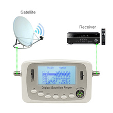 Hot sale digital finder satlink SF-500 DVB-S DVB-S2 Digital Satellite Finder signal meter Sat Dish Finder free shipping