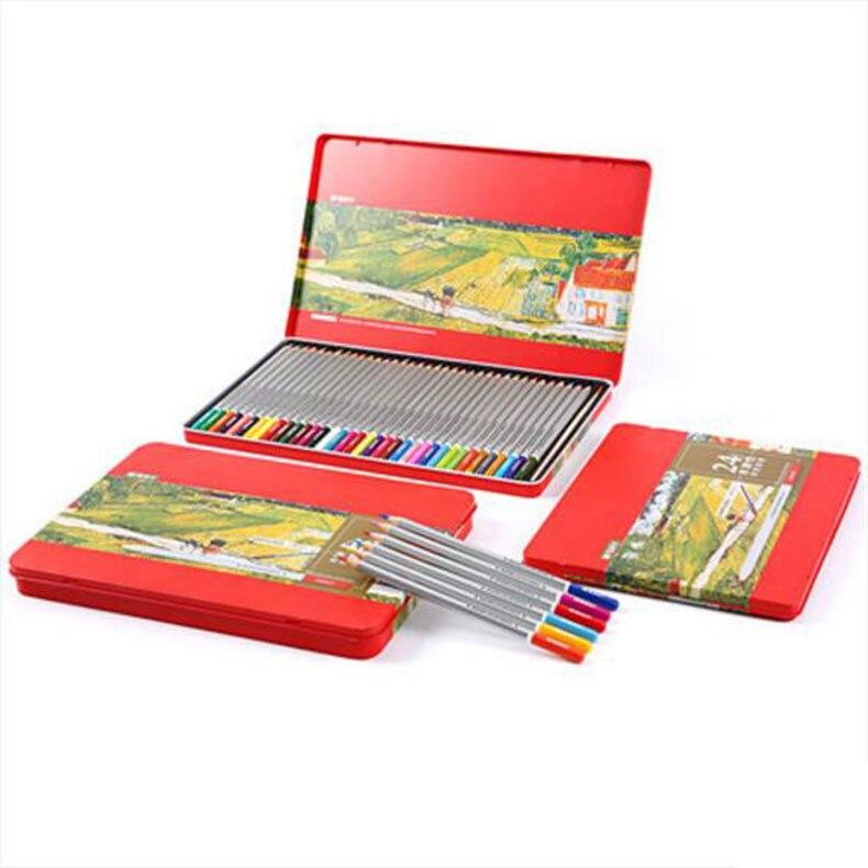 paquete escuela soluble en agua hexagonal 24/36/48 caja de color lapices de faber castell/B351129<br><br>Aliexpress
