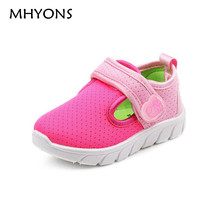 Mesh Girls Shoes 2017 Summer Kids Shoes Boys Slip On Walker Tenis Infantil Children Casual Shoes Cotton Fabric Breathable Sport