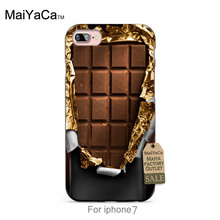 Silicone case Sweet Chocolate Bar Amazing new arrival phone case cover For case  6 6plus 7 7plus