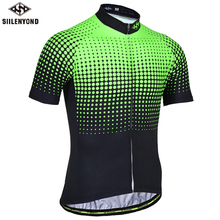SIILENYOND 2017 Vandalin Short Sleeve Cycling Jerseys Summer MTB Bicycle Clothes Ropa Maillot Ciclismo Bike Wear Clothing