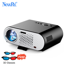 Newpal Projector GP90up 3200 Lumens Projectors 1280*768 Android Bluetooth WIFI Mini Beamer Support KODI AC3 LED TV(China)