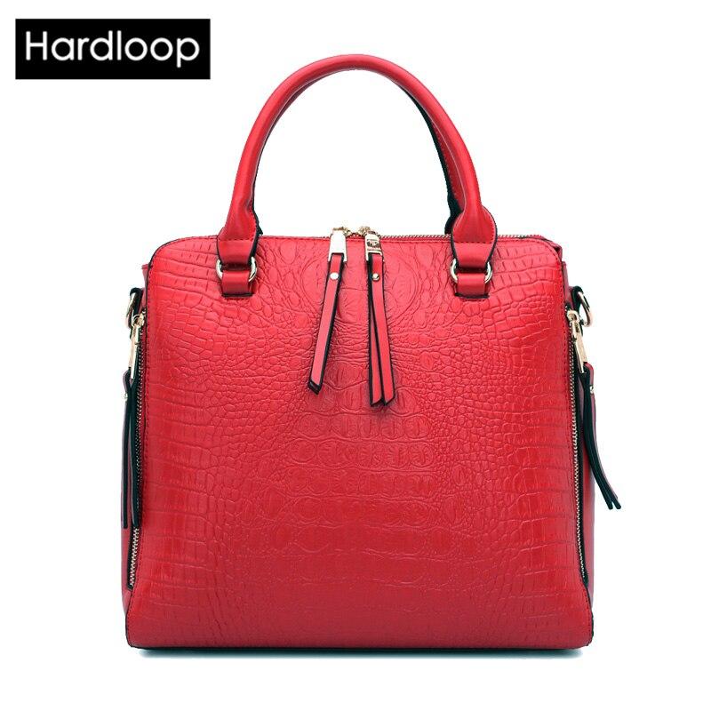 Hardloop Alligator Women Great PU Leather Handbags Luxury Brand Top-handle Bags For Female Fashion Shoulder Bag Big Capacity<br><br>Aliexpress