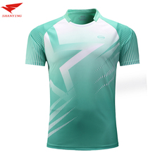 2017 new arrival hot sale men badminton shirt table tennis polo T shirts soccer jerseys tennis clothes sport jerseys for male
