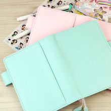 2017 New Arrive Jamie Original A5 A6 Hobo Style Pink & Mint Color Planner Without Filler Pages Match Filler