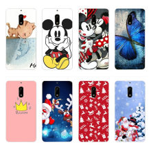 Fashion Soft Silicone TPU Case For Nokia 6 Back Case Cover For Nokia 5 3310 Phone Case Christmas(China)