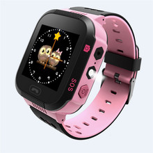 "Hot Kids SmartWatch 1.44"" HD Touch Screen for Android IOS System with Flashlight & Camera High Quality Kids Moblie Phone Watch(China)"