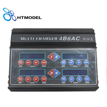 iMAX Quattro B6AC Professional RC Balance Charger Discharger for Multi-Chemistry Battery Built-In AC 4B6AC 4 Ouput(China)