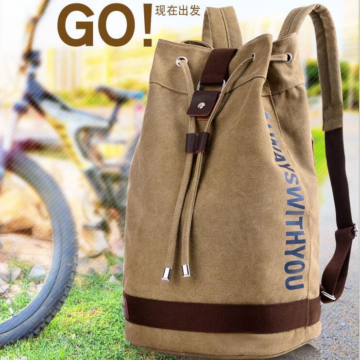 yesetn bag 121316 mens muti function usage backpack shoulder bag travel canvas bag<br><br>Aliexpress