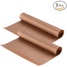 BAKHUK 3Pcs 40*60 cm Baking Mat, High Temperature Resistant Teflon Sheet, Oil-proof Paper, Baking Oven Tool, Non-stick for BBQ