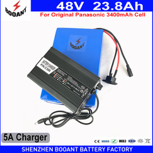 BOOANT 48V eBike Battery With Original Panasonic 18650 Cell For Bafang Motor 1000W 48V 23.8Ah Lithium Scooter Battery 5A Charger(China)