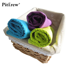 "3-Pack 12""x16"" Microfiber Cleaning Cloths Washing Towel for Car Window Windshield Home Kitchen Polishing Sponge Car Accessories"