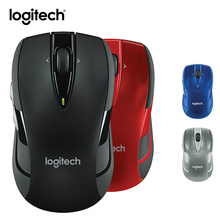 Logitech M545 Wireless Mouse Gaming Lap Top PC Gamer Genuine Optical Mice Unifying Receiver Ergonomic Mause Biaxial Roller