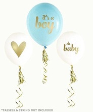 KSCRAFT 12inch It's A Boy and It Is A Girl Baby Shower Latex Balloons for Baby Shower Birthday Party Decoration Supplies(China)