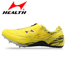 Health track and field Sprint woman sport You man running shoes for men spike summer Sneakers male sports shoes free shipping(China)
