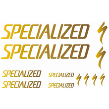 SPECIALIZED Bike With Logo Vinyl Sticker - Creative DIY Decals For Bicycles Decoration