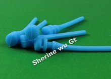 400PCS PC Cooling Fan Anti Vibration Mount Rubber Silicone Screws Easy Fixing less Noise blue