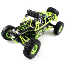 Climbing Jumps WLtoys 12428 RC Machine Car 1 : 12 2.4GHz High Speed Driving Remote Control Gasoline Car Model Toys 4 WD RC Cars