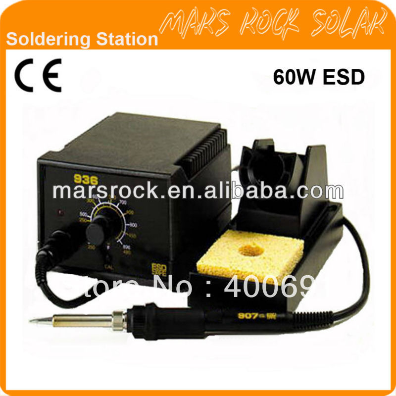 936B 60W  Anti-static Lead Free Soldering Station, CE Marked<br><br>Aliexpress