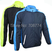 2015 Hot Selling Long Sleeve Light Weight Water Wind Resistant Cycling Coat Bike Jersey Made From High Quality Lycra Some Size