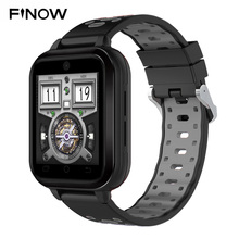 Finow Q1 Pro 4 г Smart Watch Android 6.0 MTK6737 4 ядра 1 ГБ/8 ГБ SmartWatch телефон Heart Rate SIM карты Поддержка изменить ремень 18 мм(China)