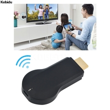 New HD 1080P AnyCast M2 Plus Airplay Wifi Display TV Dongle Receiver DLNA Easy Sharing Mini TV Stick for Android IOS WINDOWS(China)