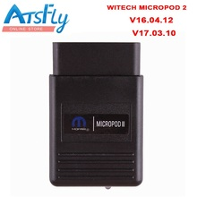 New Car Styling wiTECH MicroPod 2 Diagnostic Tool V16.04.12 For Chrysler Support Multi-Languages Chrysler diagnostic interface