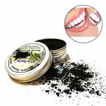 Pure Tooth Powder Whitening Black Activated Charcoal Teeth Whitening Remove Smoke Tea Coffee Yellow Stains