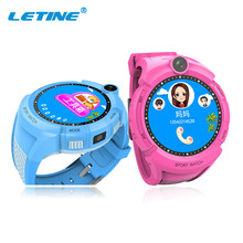 Letine Q360 baby kid smart watch cell phone children's clock with gps tracker and with a sim card in Russian for android Q80 Q50