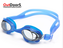 Shipping Free Children diving mask goggles silicone waterproof black / yellow / pink / blue / black