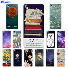 Buy Soft TPU Phone Case Lenovo A6010 Plus & A6000 & Lenovo Lemon K3 K30-T Cover Cat Landscape Printing K3 6000 6010 Capa for $1.37 in AliExpress store