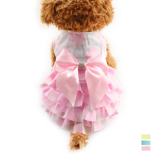 Armi store Cute Fluffy Rhinestone Butterfly Decoration Dog Dresses Dogs Princess  Dress 6071070 Pet Summer Clothes Size 5