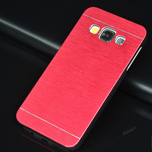 Brushed Metal Case Samsung Galaxy A5 2016 Aluminium PC Cover A3 A7 2015 S3 S4 S5 Mini S6 S7 Edge - WALWORTHS Co.,Ltd store