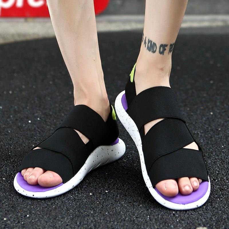 799e65cd859fd Beach Sandals Classic Y3 the Same Style Men Shoes Elastic Sandals Men  Exclusive Multicolor Outdoor Erkek Ayakkabi Men s Sandals Cheap Men s  Sandals Beach ...