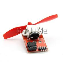Free Shipping L9110 Fan Module For Arduino Firefighting Robot Design Development Controller DIY 5V 34.9*21.5*1.5mm(China)