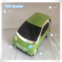 Free shipping  new promotion gift bus stereo speaker with usb tf fm WS-233 ,new car speaker