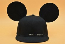 2016 hot new baseball lovely Mouse ears hat fashion parent-child horseman hat big ears Children's mic-key cute ears cap
