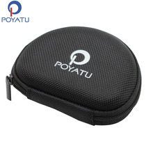 POYATU Carry Case For SOL REPUBLIC JAX AMPS In-Ear Relays Sport Wireless Bluetooth Headphones Accessories Portable Storage Case(China)