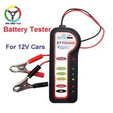 XTYDIAG Professional 12V Smart Analyzer Automotive Digital Car Motorcycle Battery Tester Car-detector with 6 LED Lights tools(China)