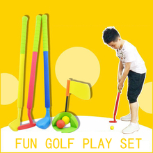 Golf Balls Fun Family Games Camp for Outdoor Fun Sports Toys For Kids Recreational Child Adult Indoor Fitness EVA Plastic Toy