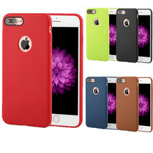 Original Official Brand Silicone Protective Cover Shell Cases for iPhone 7 Plus Case 6 6S 5 5S SE Phone Back Bags Cases Cover