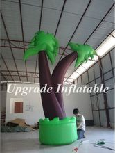 best selling outdoor party decoration inflatable palm tree replica for advertising