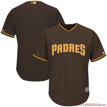 MLB Men's San Diego Padres Baseball Alternate Brown Flex Base Authentic Collection Team Jersey