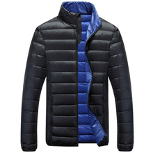 Men Down Jacket Sportswear Men Winter Down Coat Parka Men Overcoat Ultralight White Duck Down Coat Jaqueta Masculina Casual XXXL